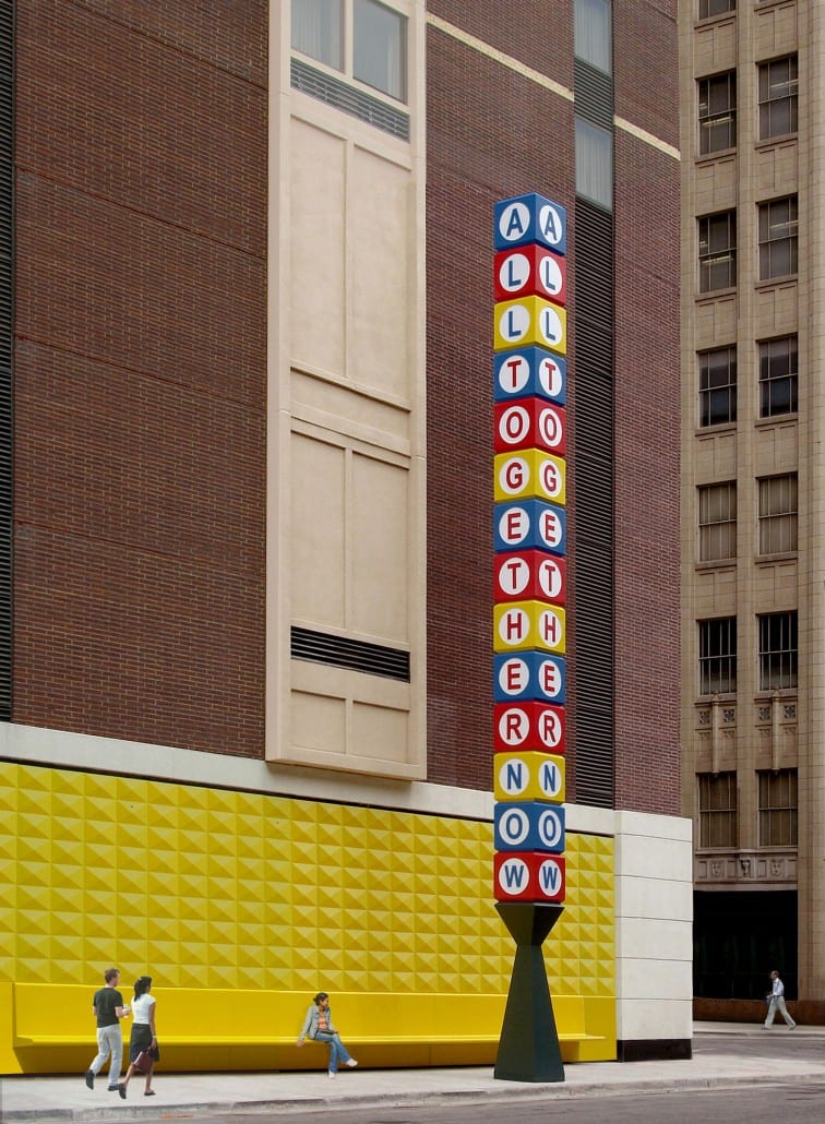 All Together Now, R & R Studios, Roberto Behar & Rosario Marquardt, Downtown Denver, Public Art,