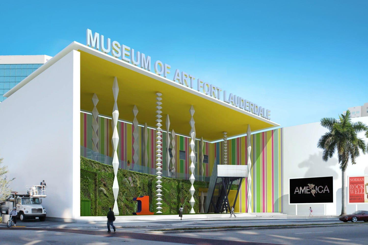 Museum of Art Fort Lauderdale: R & R Studios, Roberto Behar & Rosario Marquardt, Georgy John, MOAFL, Super Porch, Art and achitecture,