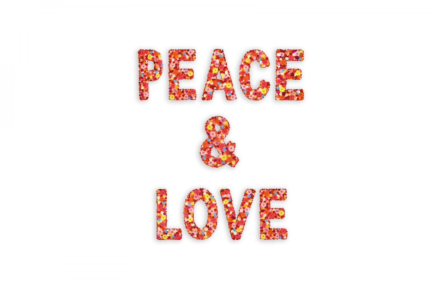 PEACE & LOVE, R & R studios, Roberto Behar & Rosario Marquardt, Miami International Airport, Miami, Georgy John, All we need is Love, Besame Mucho, All Together Now